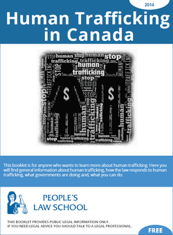 Cover of Human Trafficking in Canada