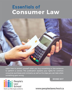 Cover of Consumer Law Essentials