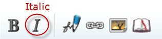 Edit toolbar italic.png