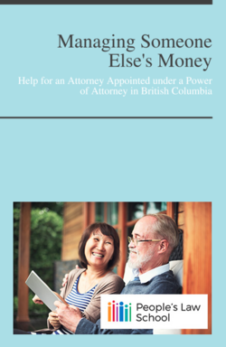 Cover of Managing Someone Else's Money
