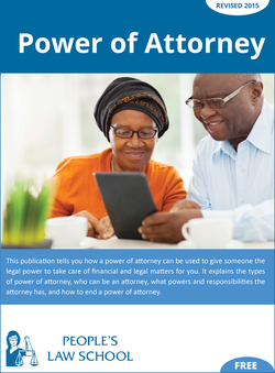Cover of Power of Attorney