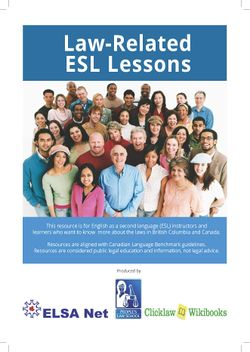 Cover of Law-Related Lessons
