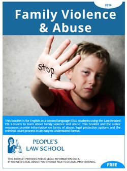 Cover of Family Violence and Abuse